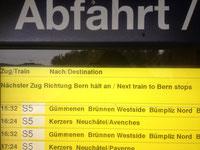21. November 2013, 15.32; Zug nach Bern
