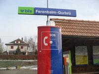 IG Ferenbalm-Gurbrü - BLS Bahnhof Ferenbalm-Gurbrue - Station, Haltestelle, arrêt, train-stop, Photo von John Romann