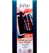 Vegane Schokolade von Vivani