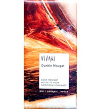 Vegane Nougat Schokolade von Vivani