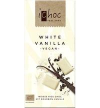 Vegane weiße Schokolade iChoc