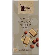 Vegane weiße Schokolade von iChoc