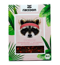Vegane Erdbeer Schokolade von raccoon