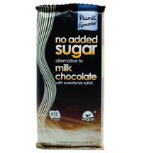 vegane Schokolade ohne Zucker, palmölfrei, glutenfrei