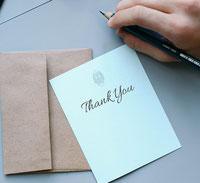 Danke, Thank You, Hochzeit, Karte