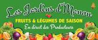 Logo producteur local Les Jardins de Manon