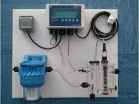 Panel cloracion agua potable