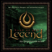 CD-Cover LEGEND – HAND OF GOD Die Chroniken von Aris 1