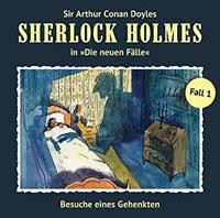 CD-Cover SHERLOCK HOLMES - DIE NEUEN FÄLLE  Fall 1 – Besuche eines Gehenkten