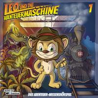 CD-Cover Leo und die Abenteuermaschine 4