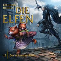 CD-Cover Die Elfen - Der schwarze Ritter