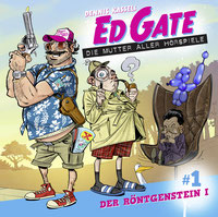 CD-Cover Ed Gate und der Röntgenstein Teil 1