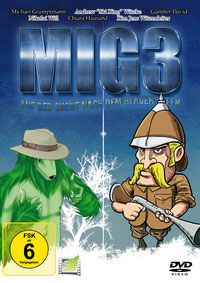 DVD-Cover Men in Green MIG 3 Hörspiefilm