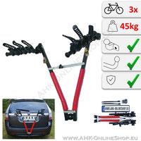 AHK Fahrradträger - günstige Variante