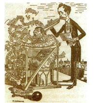 """Crítica a Richard Strauss aparecida en un periódico alemán tras el estreno de la ópera """"Elektra"""""""
