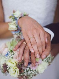 Hochzeitsfotografie Ringwechsel