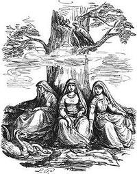 Die Nornen; Bild: Ludwig Pietsch
