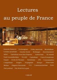 Livre Lectures au peuple de France (2014)