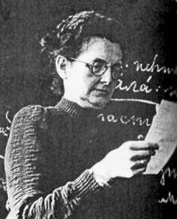 Charlotte Rinkefeil-Kirchner, Pädagogin