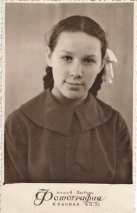 Раиса Рыжова в 1958 г.