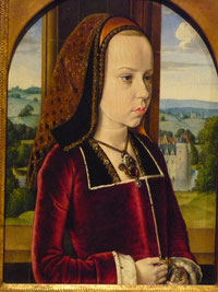 'Margaret con Österreich' (Portrait of a Young Princess), Master von Moulins, 1490-1, The Metropolitan Museum of Art. Foto: Nina Möller
