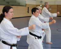 Erwachsenen-Training Karate