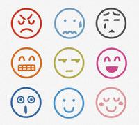 様々な表情 イラスト
