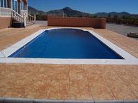 Pool mit Römischer Treppe...Swimming pool with roman steps