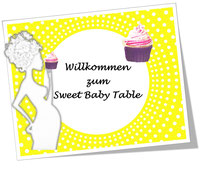 Sweet Baby Table Sternchengelb