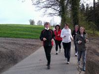 Einsteiger-Laufgruppe am Mittwoch
