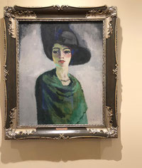 Ван Донген. Женщина в чёрной шляпе