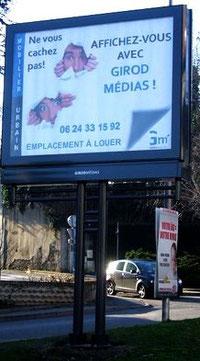 Affichez-vous avec Girod Médias !