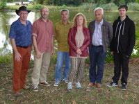 Foto: Von links nach rechts: Matthias Lewin, Stefan Zettelmeier, Thomas Dietzel, Sabine Schmitt, Helmut Buld und Sebastian Dietel