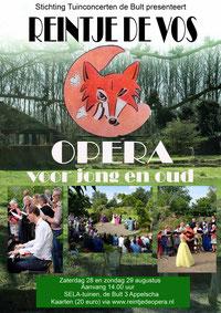 Opera Reintje de Vos in het jubileum jaar in de Selatuinen
