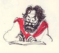 Bruno Le Floc'h vu par le dessinateur de presse Nono / Vannes, juin 2012