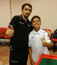 I finalisti Calcagno e Riccardo Natoli
