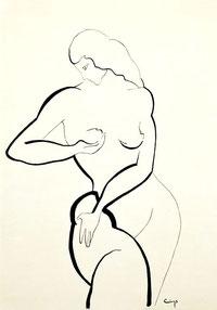 Female Nude – e.e. Cummings