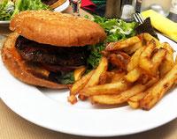 Burger du Bloc, rue Brochant