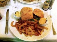 Burger du Café Cannibale