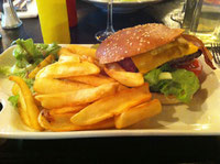 Burger du Charlie Birdy