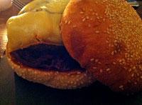 Le burger de la Rotonde