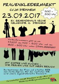 Frauenkleidermarktflyer (vergrößerbar)
