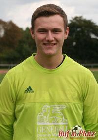 Torhüter Jens Tackenberg ist zwar angeschlagen, stellt sich aber dennoch in den Dienst der Mannschaft.