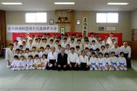 開館25周年記念演武大会(H26/4/6)