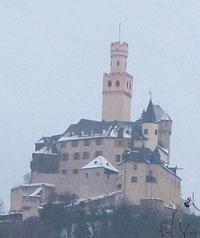 Die Marksburg über Braubach