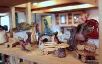 Keramik auf Kunsthandwerkermarkt