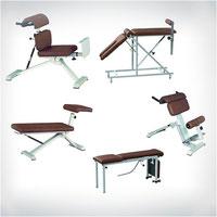 Winkeltisch 3-teilig - MTT - Gerät zur medizinischen Trainings-Therapie