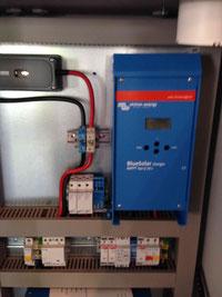 Herzstück Batterie Laderegler Solar Stromspeicher Batterie mit Blei Gel oder Lithium LiPoFe