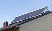 Solar Wärme - Thermie Ideal mit den richtigen Winkel