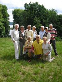 Gruppe im Petzower Schlosspark